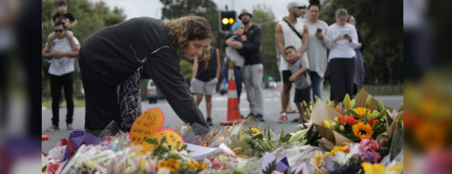New Zealanders mourn after mosque shootings