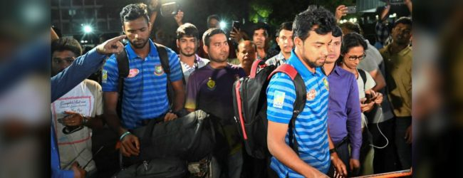 Bangladesh cricket team return home after NZ shooting