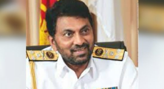 Former Navy Commander Admiral Wasantha Karannagoda arrived at the CID today