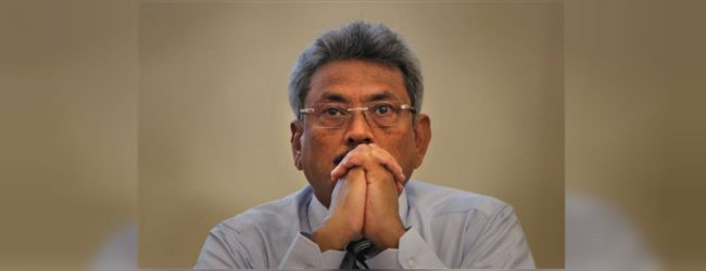 Gota's hint of Presidential candidacy
