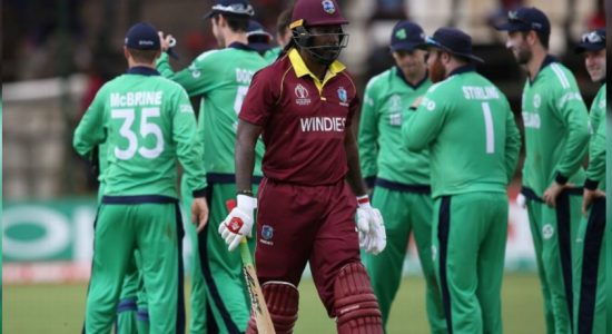 Irish to host Windies and Bangladesh in an ODI tri-series