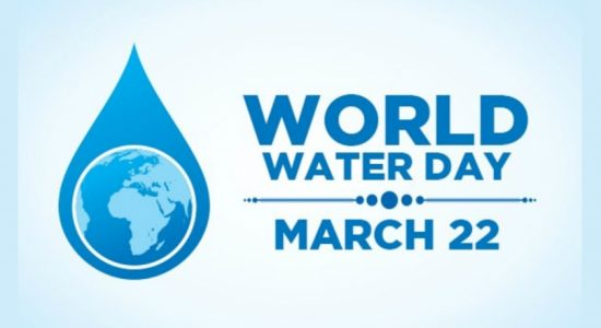 Today is World Water Day : Let's use water sparingly