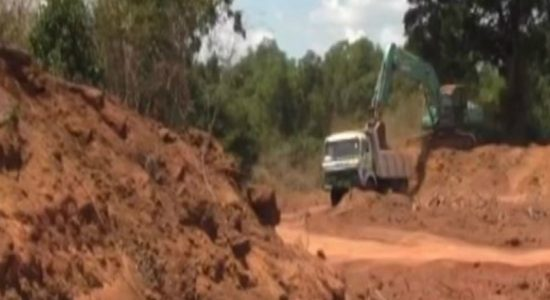Large scale gravel racket uncovered in Mullaitivu