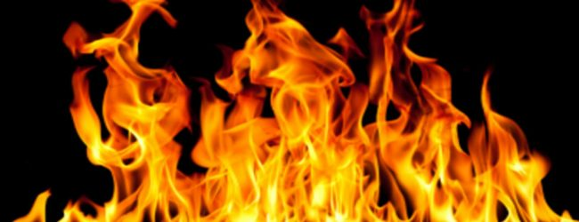 Fire at Dehiwala state bank