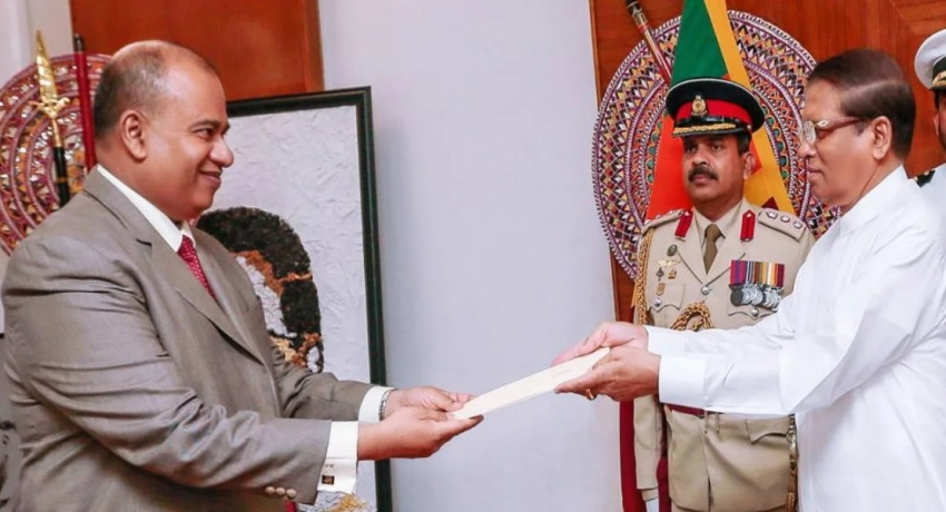 Yasantha Kodagoda sworn in as President of the Court of Appeal