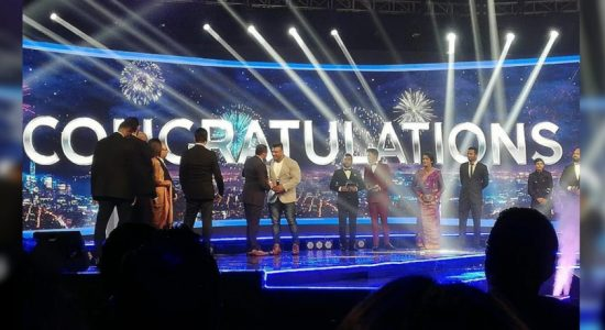 Lucian Pushparaj awarded Popular Sports Personality of the Year