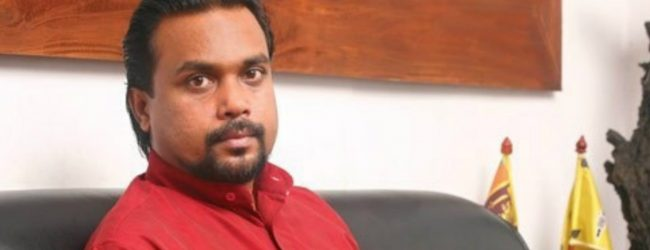 Sagala shamed : Weerawansa proves that office of Millennium Challenge Corporation is at Temple Trees
