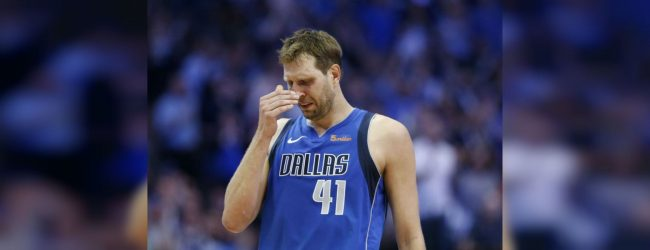 Nowitzki announces his retirement from NBA after playing in final Mavericks home game
