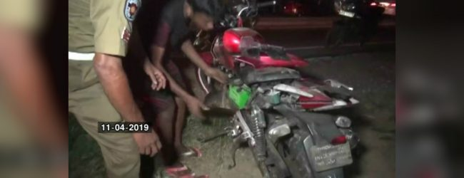 Two motorcycles collide at high speed: 21 year old dead