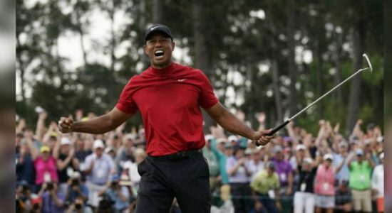 """Tiger is back"" : Tiger secures fifth Master's title"