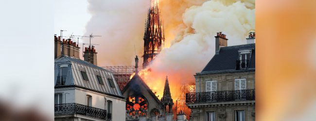 World bands together following Notre-Dame inferno