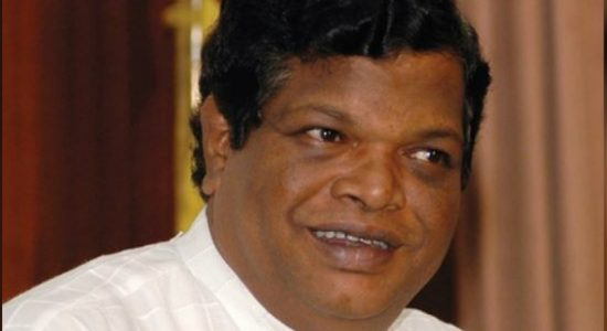 Bandula Gunawardena visits MR at Carlton House