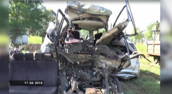Mahiyangana accident : 2 survivors critical
