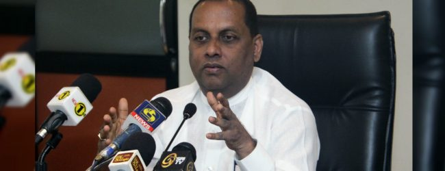 Mahinda Amaraweera hints of changes in the political environment