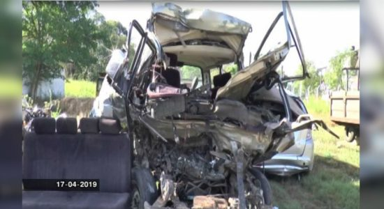 Mahiyangana accident: License of the bus driver temporarily suspended