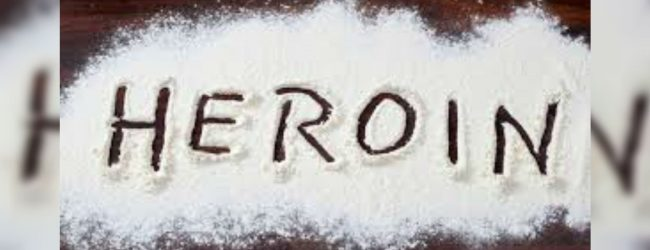 3 Kg of heroin discovered by Police Narcotic Bureau