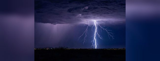 Lightning strikes one dead, 2 more injured