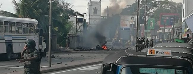 Bomb explodes in Kotahena while STF was defusing it
