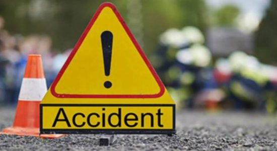 Three dead in a motor accident in Kotmale