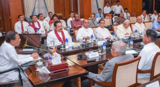 Everyone must join hands to ensure national security : All-party meeting