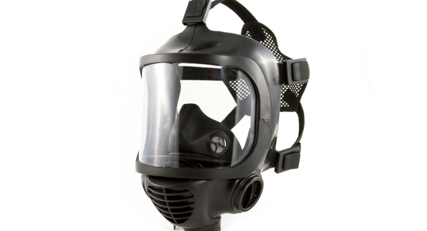 Gas masks were used to manufacture bombs