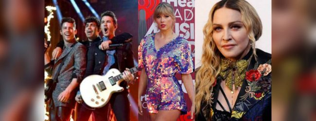 Madonna, Taylor Swift, BTS and Jonas Brothers rock the Billboard Awards stage